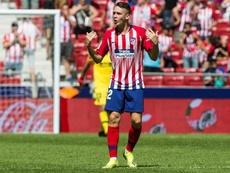 Borja Garcés, expulsado el día que volvía. EFE