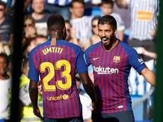Barcelona vence a Real Sociedad pela 4ª rodada de LaLiga. EFE