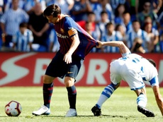 Les compos probables du match de Lige entre le FC Barcelone et la Real Sociedad. EFE
