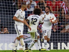 Zidane veut compter sur Isco et Marcelo. EFE
