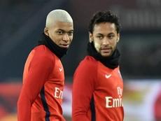Neymar e Kylian Mbappe PSG. EFE