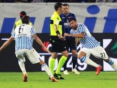 Petagna, la guinda del Inter. EFE