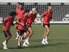 El Madrid vuelve a la Champions. EFE