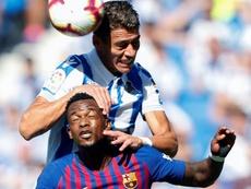 Héctor Moreno podría salir por seis millones. EFE/Archivo