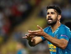 Diego Costa responde en Champions. EFE