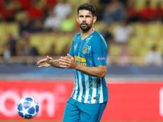 Lleva nueve goles en Europa con el Atlético. EFE