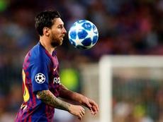 Nueva exhibición de Messi. EFE