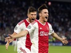 Ajax coloca um preço em Tagliafico. EFE