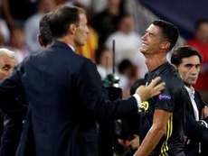 El presidente de la Juventus mostró su apoyo a Cristiano. EFE