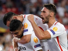 Sergi Gómez, cerca de salir del Sevilla. EFE