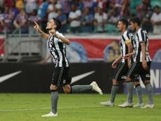 Botafogo no sabe lo que es perder a domicilio ante Ceará. EFE