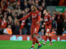 Georginio Wijnaldum says Liverpool must learn thier lessons from defeat at Napoli. EFE