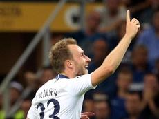 Christian Eriksen vuelve a estar disponible. EFE/Archivo