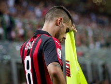 Suso's time at AC Milan looks to be coming to a close. EFE