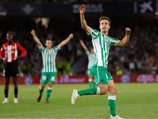 Betis y Athletic se ven las caras este domingo. EFE/Archivo