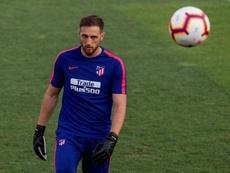 Oblak ne jouera pas avec la Slovénie jusqu'en 2019. EFE