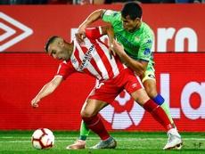 Borja García analizó el partido ante el Sporting. EFE/Archivo