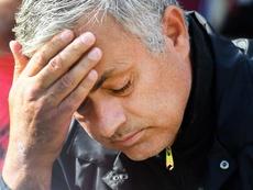 Manchester United José Mourinho.EFE/EPA