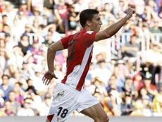 Óscar de Marcos ya lleva 400 partidos en el Athletic Club. EFE/Archivo