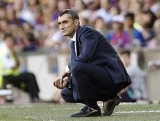 Valverde confía en hacer un pleno de victorias. EFE