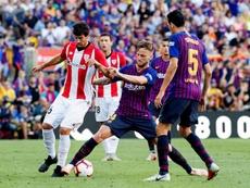 El Barça sumó su tercer pinchazo consecutivo en Liga. EFE