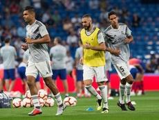 Benzema y Varane, recuperados. EFE