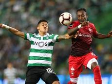 Sporting Fredy Montero Lisboa, Portugal, 29 de septiembre de 2018. EFE