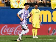 Leo Suárez volvió a ser decisivo, como en Balaídos. EFE