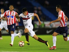 Junior empató en la cancha de Colón a un gol. EFE/Archivo