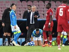 Liverpool y Nápoles se jugarán un puesto. EFE