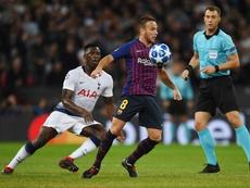El brasileño se consagró con el partido en Wembley. EFE