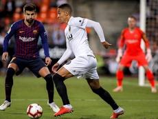 Rodrigo vuelve este fin de semana al Camp Nou. EFE