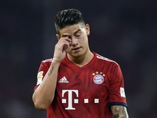 James Rodriguez interested in the Premier League. EFE