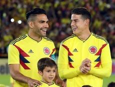 La Selección de Colombia se queda sólo con dos patrocinadores. EFE
