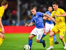 Verratti cree que ningún futbolista juega igual en un club que en una Selección. EFE