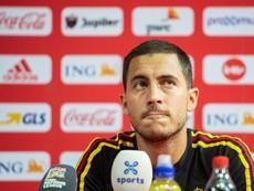 Eden Hazard is currently on international duty with Belgium. EFE