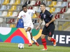 Rashford missed several chances against Croatia on Friday. EFE
