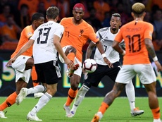 Germany and Holland are fighting with Northern Ireland for a spot at the Euros. EFE