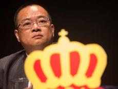 El señor Chen acudió a la ciudad deportiva a animar a sus jugadores. EFE/Archivo