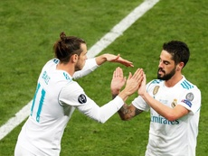 Neither Bale nor Isco trained as a precaution. EFE