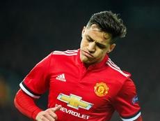 Alexis se apagó cuando llegó al Manchester United. EFE