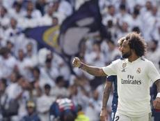 Marcelo Vieira 9ª jornada de La Liga entre el Real Madrid y el Levante. EFE