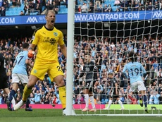 Joe Hart could move once again. AFP