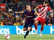 Arthur has been subject to praise from Barca supporters. EFE