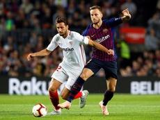 Les compos probables du match Séville-Barcelone. EFE