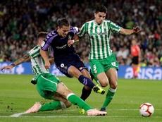 El Valladolid podría volver a contar con Enes Ünal. EFE