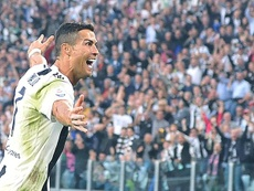 Ronaldo has continued to break football records in the black and white of Juventus. EFE