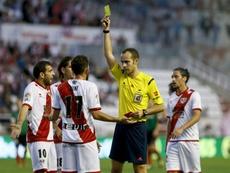 Melero López sera l'arbitre du match entre Unionistas et le Real Madrid. EFE