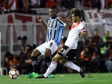 El día que Ponzio quería terminar su ciclo en River Plate. EFE