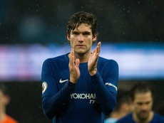 Alonso insists the title race isn't over yet for Chelsea. EFE